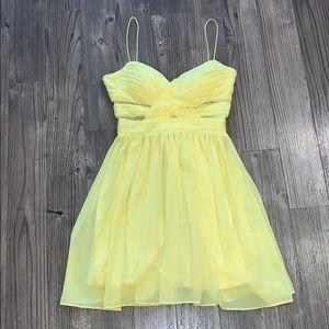 👗 Yellow Hailey Logan Dress, Size 5/6